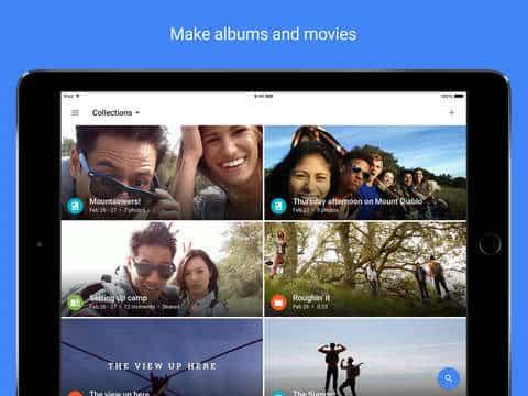Google Fotos Apple Fotos 3