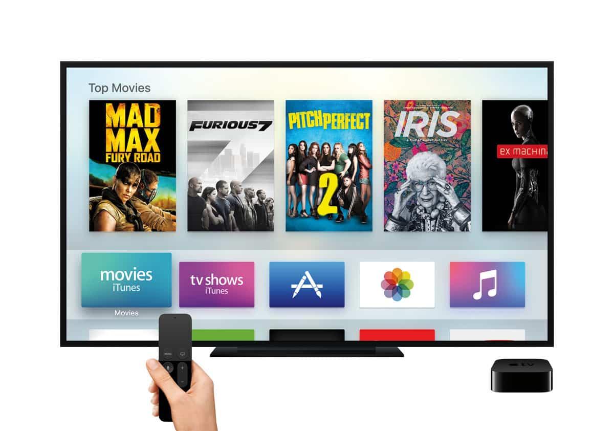 Vista Menu AppleTV