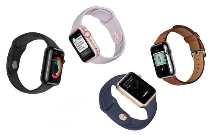 Colores del nuevo modelo AppleWatch