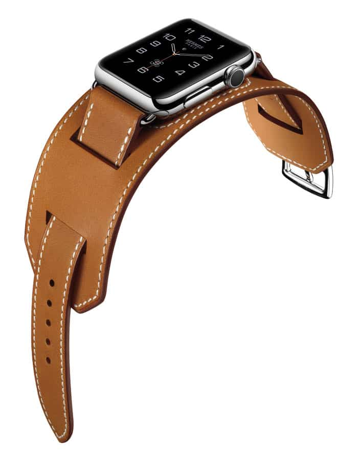 AppleWatch Hermes correa Manchette