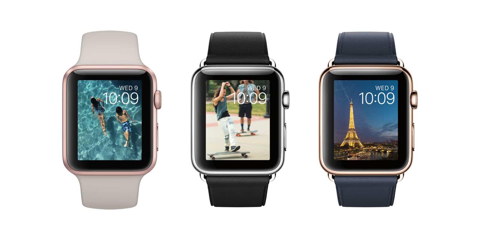 Nuevos modelos de colores para AppleWatch