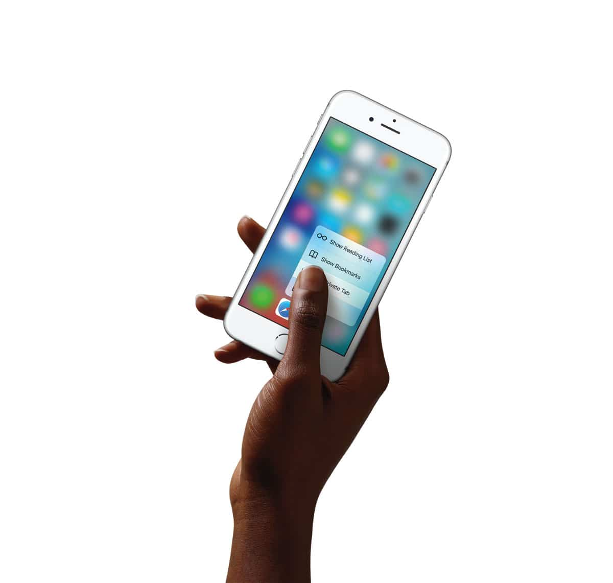Novedades Multi-Touch, 3D Touch para iPhone6s