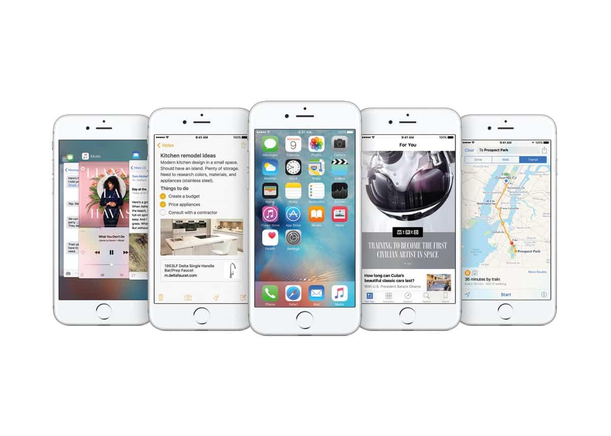 Nuevo sistema operativo Apple iOS 9