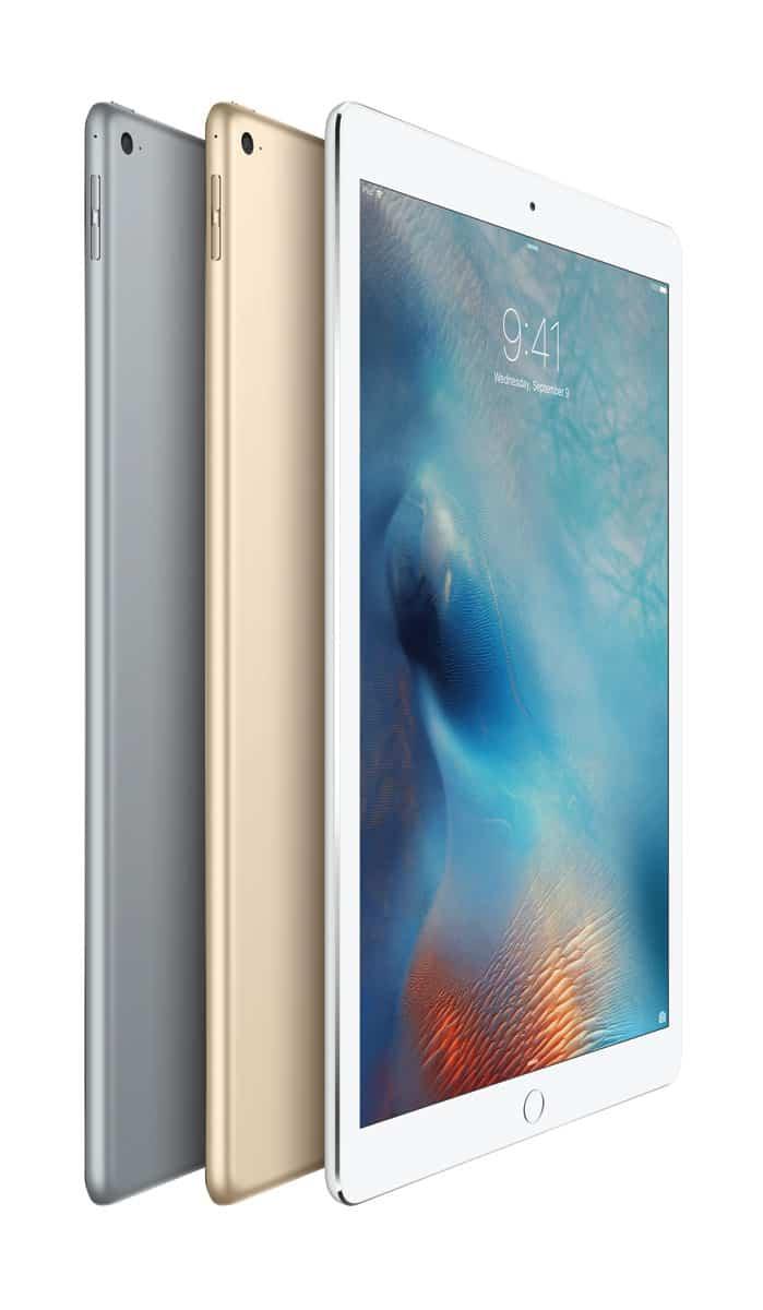 Nuevos colores plata, oro y gris espacial de iPad Pro