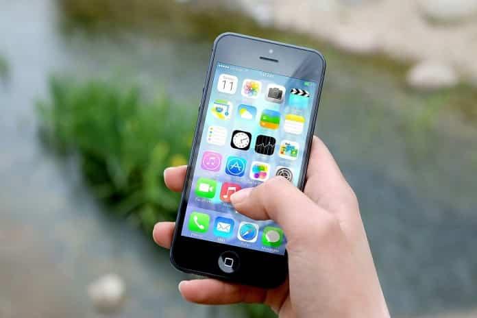 iconos de la aplicaciones de la interfaz de iPhone 4