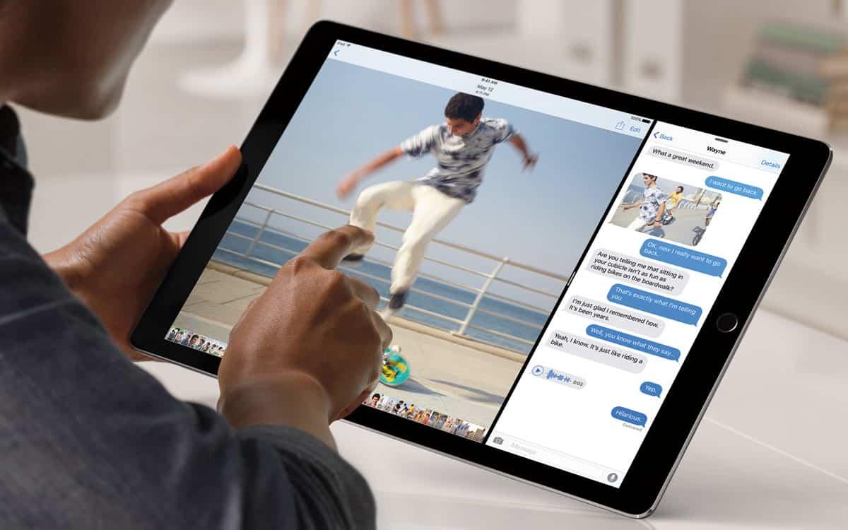 Nuevo iOS 9 para iPad Pro
