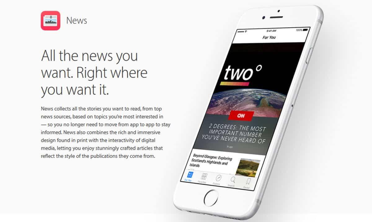 novedades de iOS 9.1
