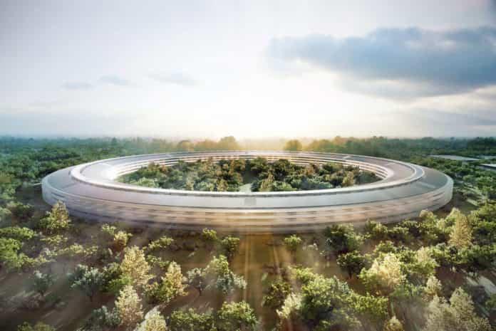 Así es el aspecto futurista del nuevo campus de Apple 2