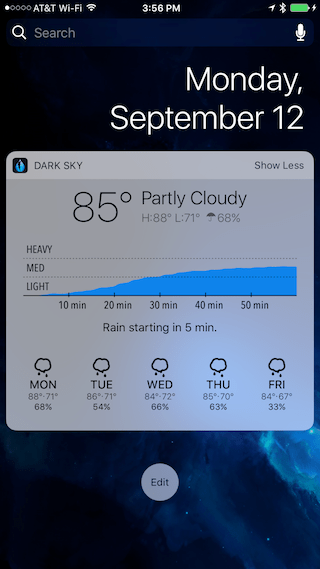 Los 14 mejores widgets para iOS 10 10