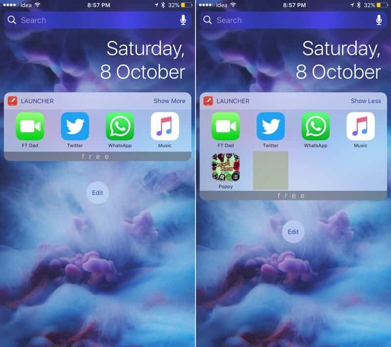 Los 14 mejores widgets para iOS 10 1