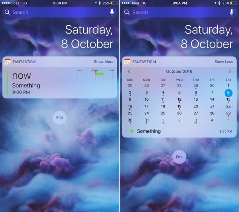 Los 14 mejores widgets para iOS 10 9