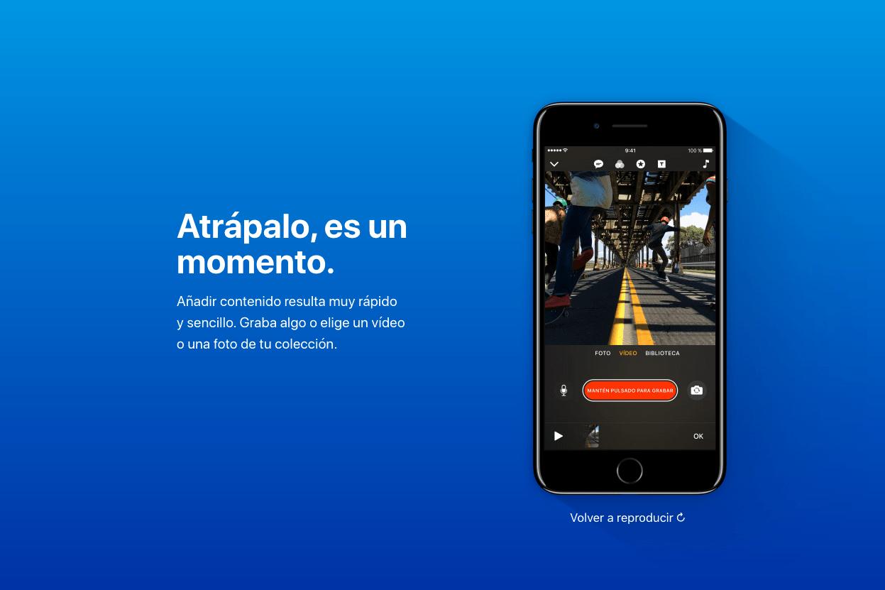 Clips, la nueva aplicación de Apple para crear vídeos divertidos 8