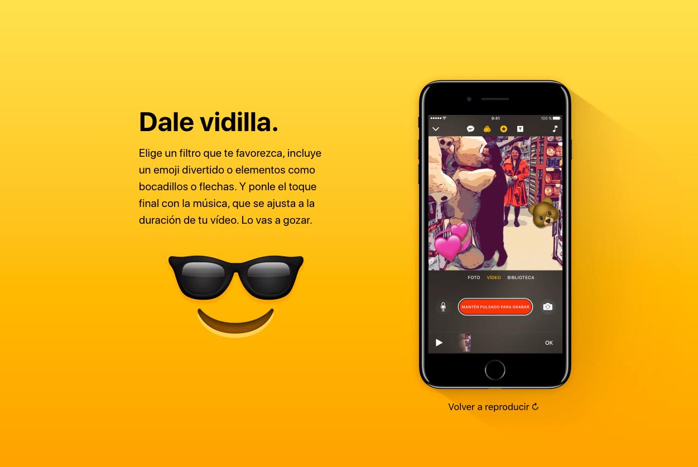 Clips, la nueva aplicación de Apple para crear vídeos divertidos 9