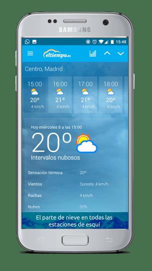 Eltiempo.es, la App para conocer el tiempo que hará en Semana Santa 2017 6