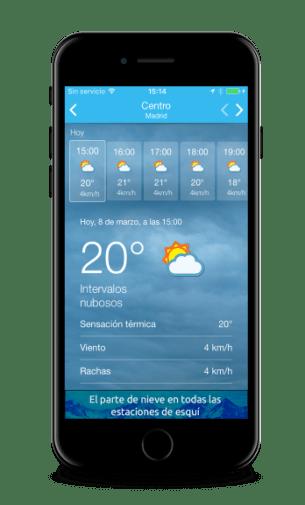 Eltiempo.es, la App para conocer el tiempo que hará en Semana Santa 2017 5