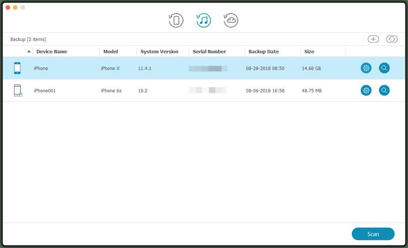 iPhone Data Recovery for Mac, la mejor solución para recuperar datos de tu dispositivo iOS 5