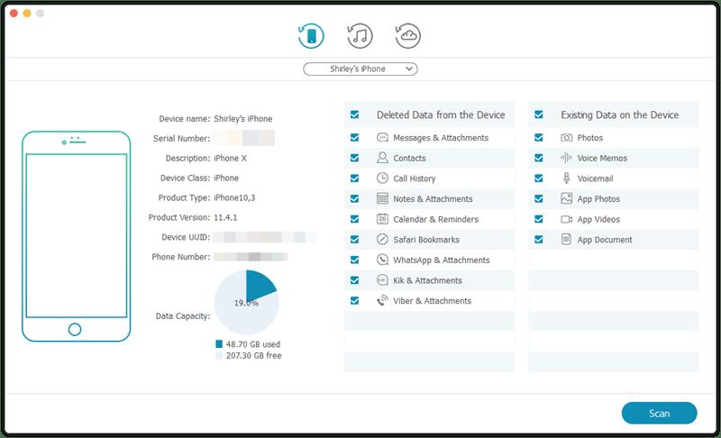 iPhone Data Recovery for Mac, la mejor solución para recuperar datos de tu dispositivo iOS 3