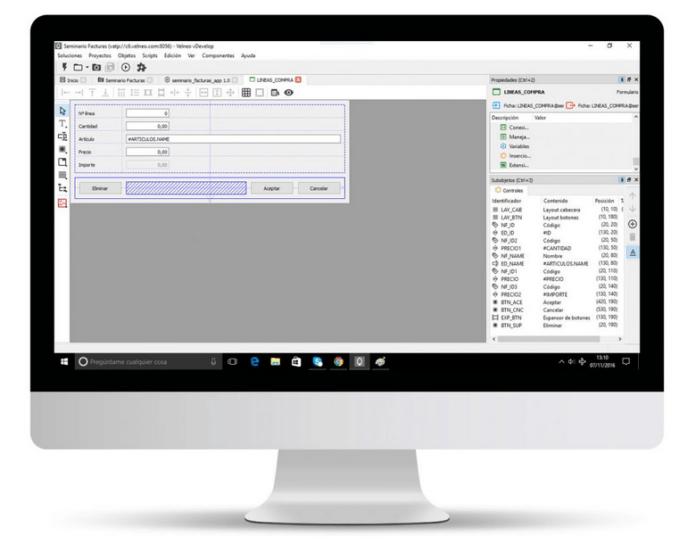 Desarrollo low-code de software de gestión en Mac y OS X 5