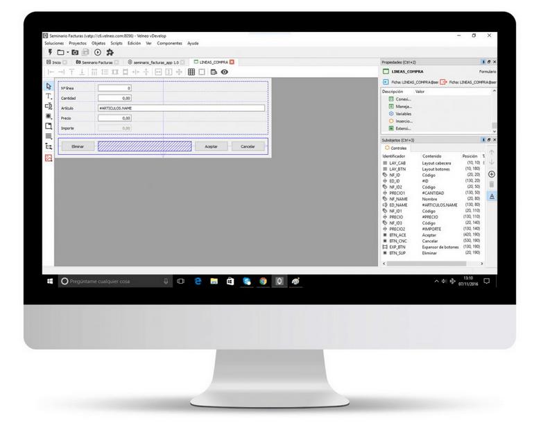 Desarrollo low-code de software de gestión en Mac y OS X 3