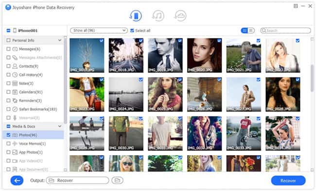 Joyoshare iPhone Data Recovery, la herramienta que te ayudará a recuperar datos perdidos del iPhone 12