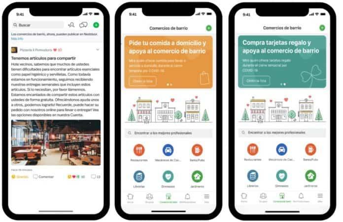 Nextdoor estrena nuevas funcionalidades para que los vecinos ayuden a los comercios locales 2