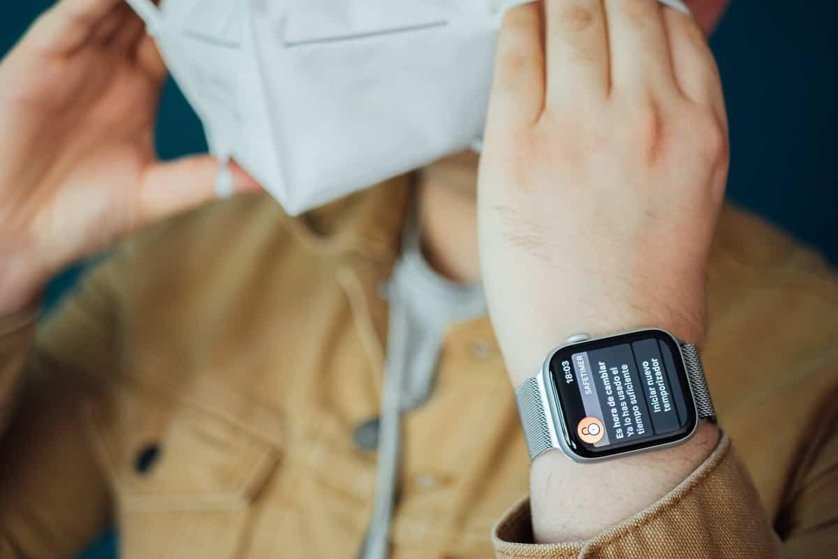 SafeTimer, la aplicación para controlar el uso de las mascarillas 3