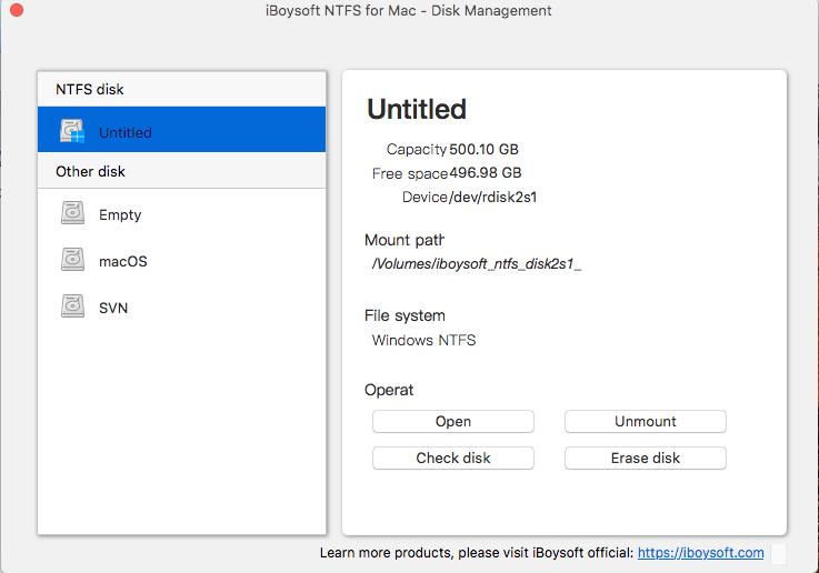 Cómo escribir en unidades NTFS en macOS 3