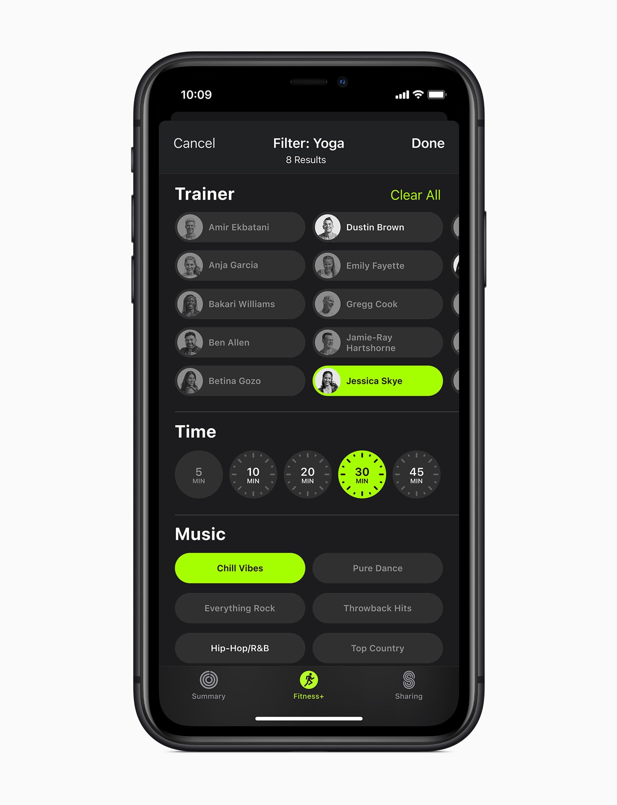 Apple Fitness+: una nueva experiencia de fitness entretenida y personalizada en el Apple Watch 6