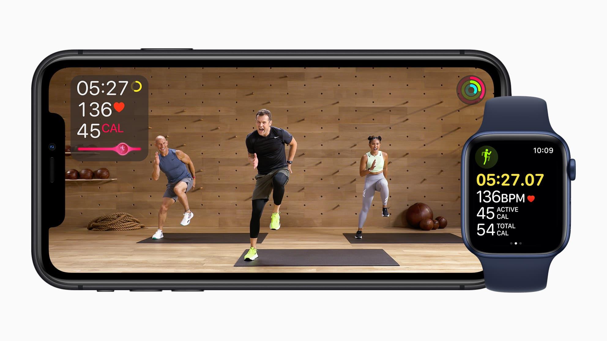 Apple Fitness+: una nueva experiencia de fitness entretenida y personalizada en el Apple Watch 5