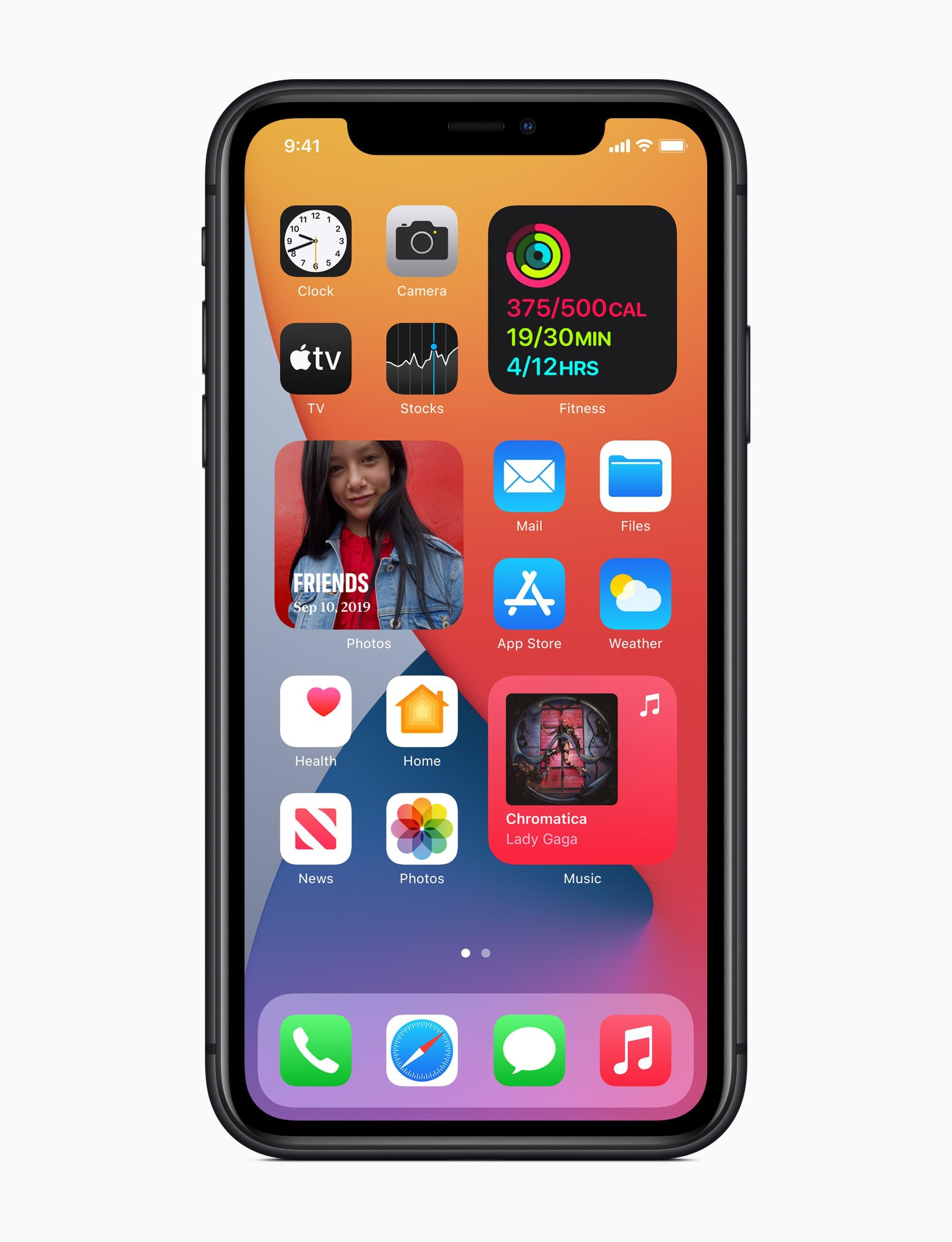 iOS 14 ya está disponible para iPhone y iPad 52