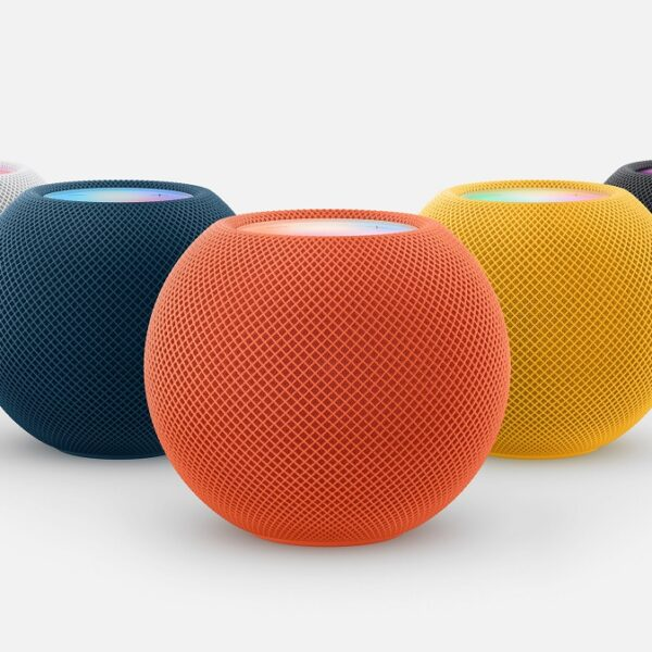 HomePod mini disponibles en llamativos colores