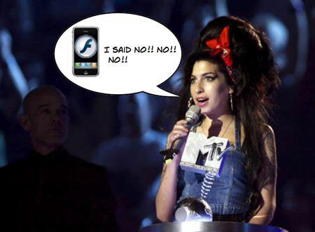 No habrá Flash para el iPhone, Adobe se raja 3