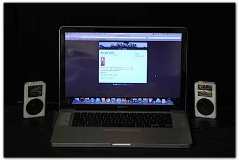 Altavoces a partir de dos iPods