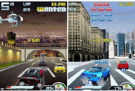 Asphalt 4 - juego de coches para el iPhone y iPod