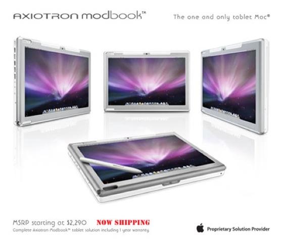 Axiotron Modbook, la primera tablet mac que no es de Apple 3