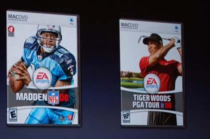 Madden y Tiger Woods '08 disponibles en la Apple Store 3