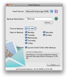 Email Backup 2.0, copias de seguridad de tu correo 3