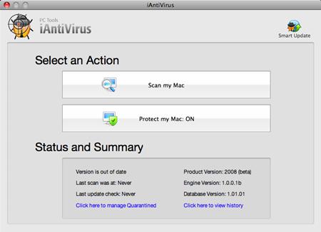 iAntivirus Beta 1.0b 3