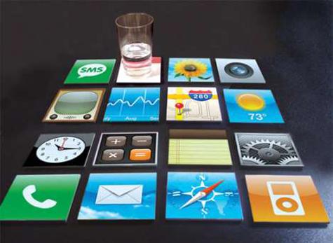 Posavasos iPhone