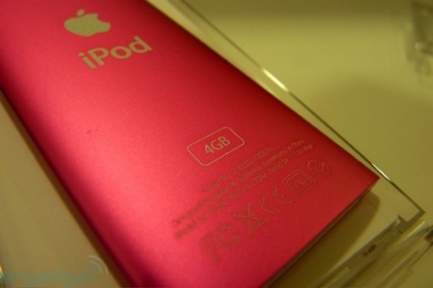 ipod nano 4g de 4gb