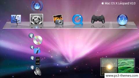 Tema de Leopard para la PlayStation 3 3