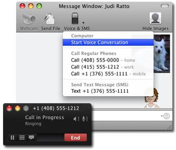 Yahoo! Messenger 3 (beta) para Mac ofrece llamadas de voz 3