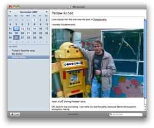 Mémoires – Diario personal para Mac 3