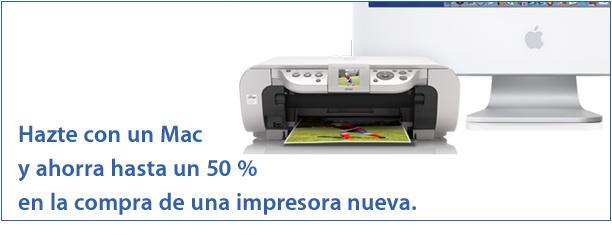 50 porciento impresoras