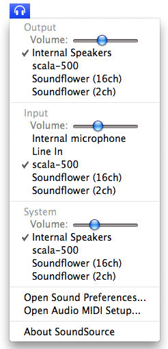 Soundsource: Controla la fuente de entrada y salida de audio en tu Mac 6