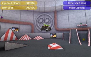 Widget: StuntManiaJnr, juego de coches en tu Dashboard 3