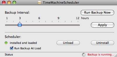TimeMachineScheduler - Cambiando el intervalo de copias de seguridad en Time Machine 6