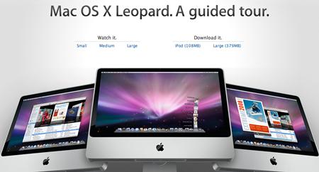 Tour guiado de Mac OS X Leopard 3