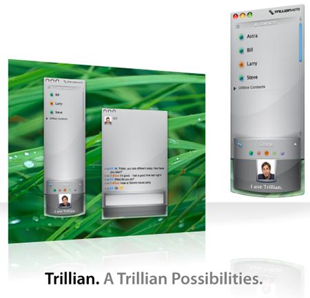 Trillian será portado a Mac OS 3