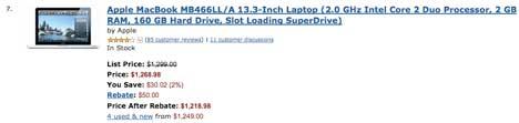 Ventas Apple en Amazon
